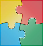 Color puzzle Royalty Free Stock Image
