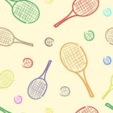 Color rackets Stock Photography