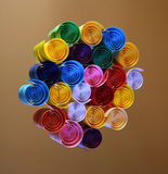 Color of rainbow stock image