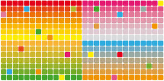 Color rectangles Stock Photo