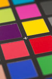 Color reference card Royalty Free Stock Image