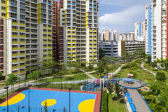 Color residential estate Stock Photography