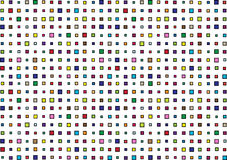 Color retro mosaic squares background Royalty Free Stock Images