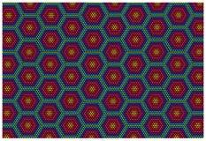 Color retro mosaic squares background. Color retro mosaic tiles background vector illustration
