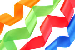 Color ribbons Stock Photography