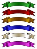 Color ribbons Stock Photo