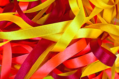 Color ribbons background Stock Images