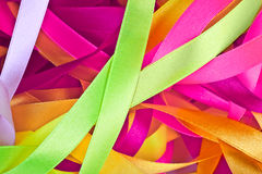 Color ribbons background Royalty Free Stock Photography