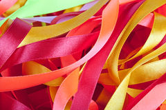 Color ribbons background Stock Photo