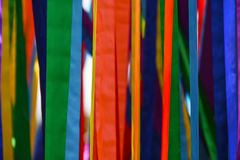 Color ribbons, concept LGBT, freedom, Europe, homosexuals, parade, background, copy space, flag royalty free stock image