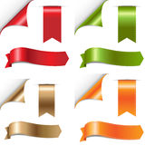 Color Ribbons Set Royalty Free Stock Image