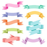 Color ribbons Royalty Free Stock Photo