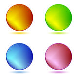 Color ring buttons Royalty Free Stock Image