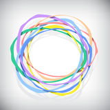 Color rings Stock Image