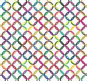 Color rings pattern. An illustration of color rings pattern. Vector Stock Photography