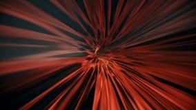 Color rojo del indark abstracto del túnel stock de ilustración