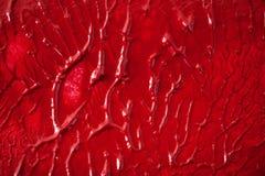 Color rojo estructurado Fotografía de archivo