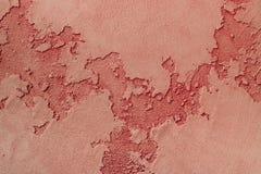 Color rojo grabado en relieve de la textura Fotos de archivo