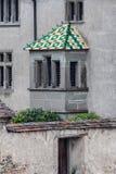 Color Roof Stein am Rhein Switzerland Stock Image