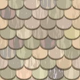 Color roof tiles seamless Royalty Free Stock Photography