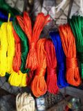 Color ropes Stock Photo
