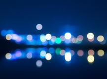 color round bright light spots royalty free stock images