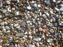 Color round stones Stock Photos