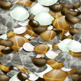 Color round stones Royalty Free Stock Photo