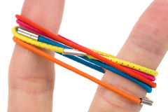 Color rubber band Stock Photos