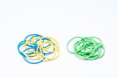 Color rubber bands Stock Photos