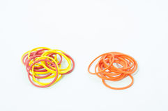 Color rubber bands Stock Photo