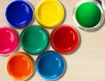 Color rullar Royaltyfri Bild