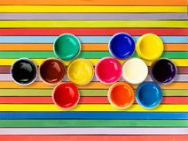Color rullar Royaltyfri Fotografi