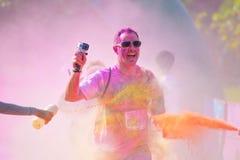 The Color Run Stock Photos
