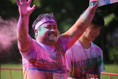 The Color Run Royalty Free Stock Images