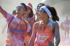 Color Run Royalty Free Stock Photo