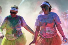 Color Run Royalty Free Stock Image