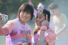 Color Run Stock Photos