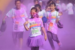 Color Run Royalty Free Stock Images
