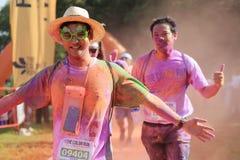 Color Run Stock Photography