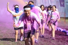 Color Run Stock Photography
