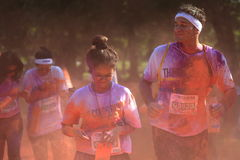 Color Run Royalty Free Stock Photography