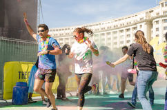 The Color Run  Bucharest Stock Photography