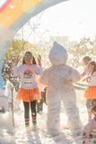 The Color Run. Bucharest, event from 22 Apr 2017 Stock Images