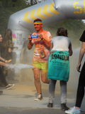 Color Run 2015, Bucharest Royalty Free Stock Photo