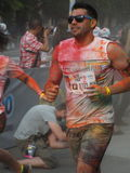 Color Run 2015, Bucharest Royalty Free Stock Photos