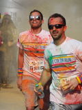 Color Run 2015, Bucharest Royalty Free Stock Images