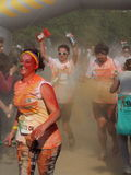 Color Run 2015, Bucharest Stock Images