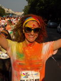 Color Run 2015, Bucharest Royalty Free Stock Image
