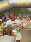 Color Run 2015, Bucharest Royalty Free Stock Photography